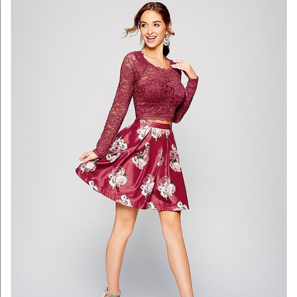 e58815223ed Dresses   Skirts - Junior 2-pc Prom Formal Dress